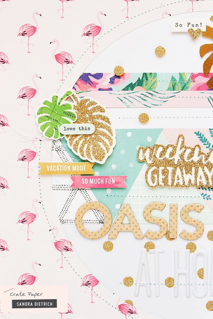 Capture weekend vibes with Oasis by Crate Paper!
