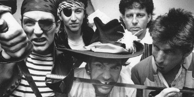 The band Hello Sailor, 1989.