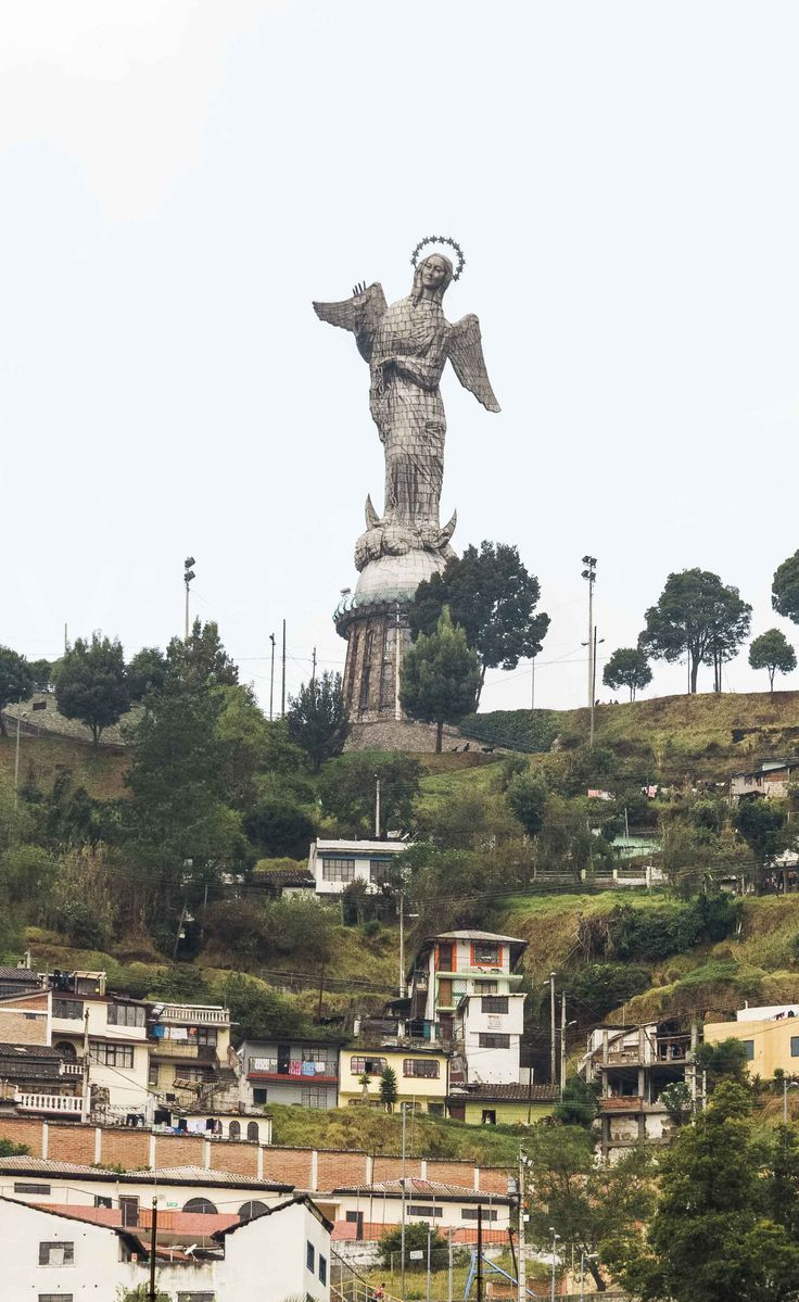 You can find a lot ofattractive Instagram spots in Ecuadors capital.Here is a list of the 10 best Instagramspots in Quito. The Viking Abroad #quito #elpanecillo #southamerica #panecillo