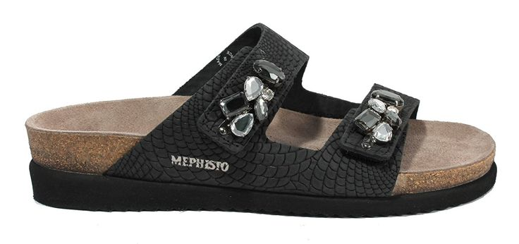 Mephisto Women's Hana Slide Sandal >>> Hurry! Check out this great product : Slides sandals