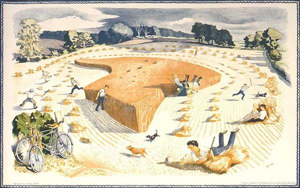 Harvesting, by John Nash