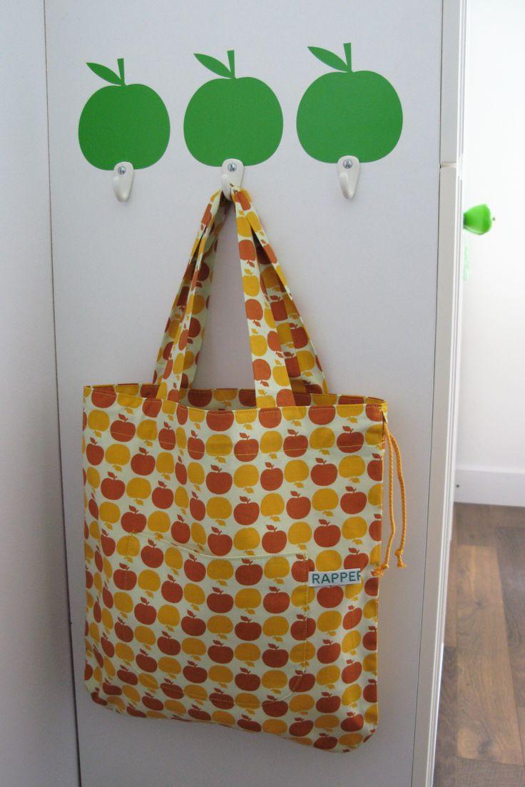 Orange apple bag