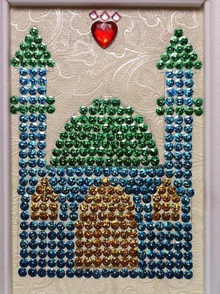 paillette masjid craft