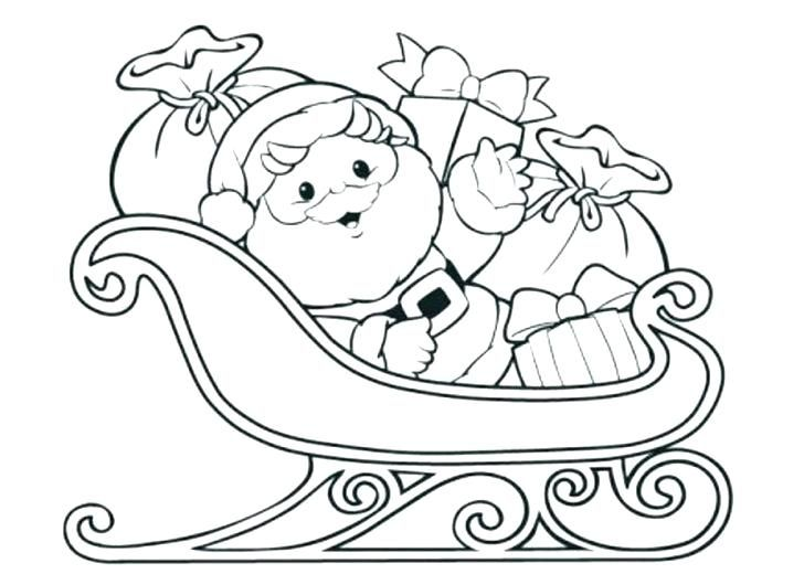 Santa Coloring Pages Santa Coloring Pages Printable Christmas