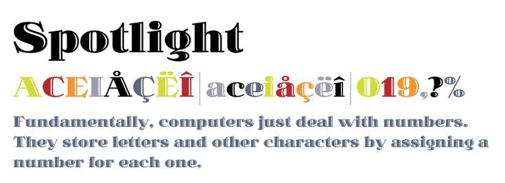 Spotlight - desktop font - Fonts.com