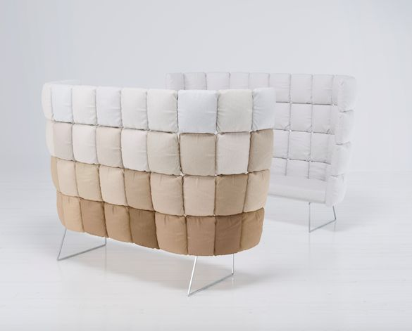 """""""Undecided sofa"""" by Ilkka Suppanen & Raffaella Mangiarotti per il nostro Fuorisalone 2017"""
