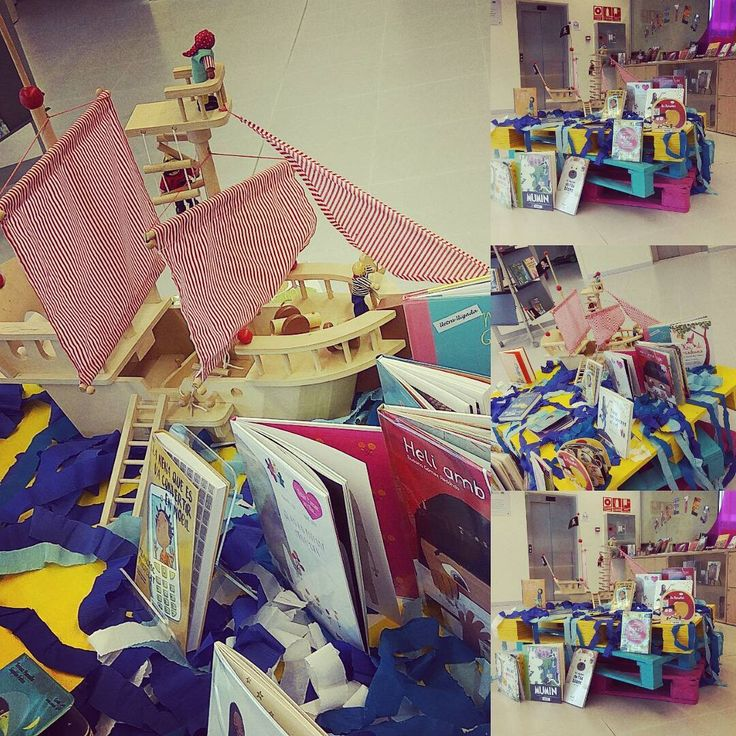 PetitsLlibres 🐥🌊⚓⛵ Pirates a la biblioteca de Martorell!!! #bestoftheday #book #books #bookworm #climax #imagine…""