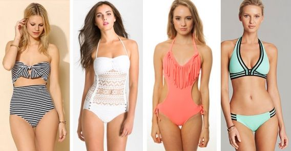 General: Trendy Swimsuit - Obtain the Summertime Look