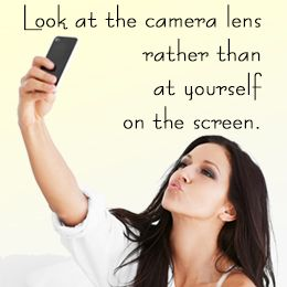 Tip for taking a great selfie