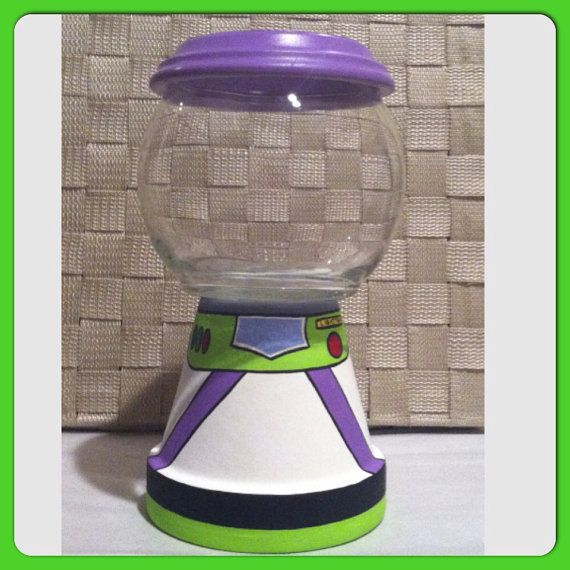 Buzz Lightyear Inspired Candy Jars by GCraftyHands on Etsy