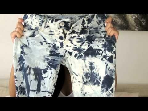 DIY: Isabel Marant tie dye jeans