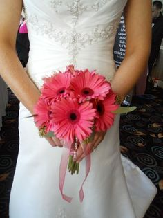 simple barberton daisy wedding bouquets - Google Search