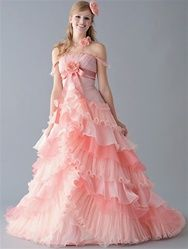 17  images about Pink Wedding Dresses on Pinterest - Pink gowns ...