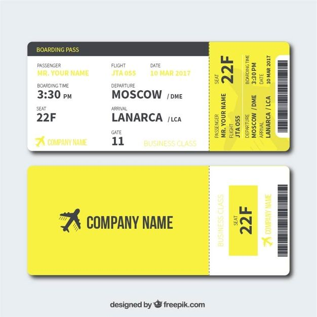Boarding Pass Template] Free Boarding Pass Template Google Search ...