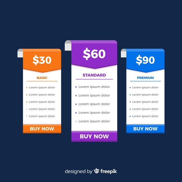 Download Flat Price List Collection For Free Price List Template Vector Free Receipt Template