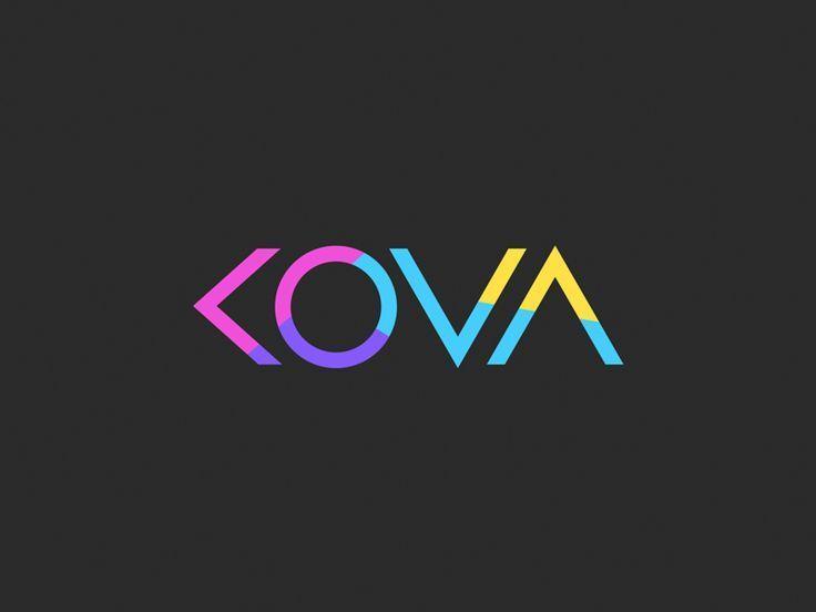 KOVA - logo design by Eddie Lobanovskiy #Design Popular #Dribbble #shots