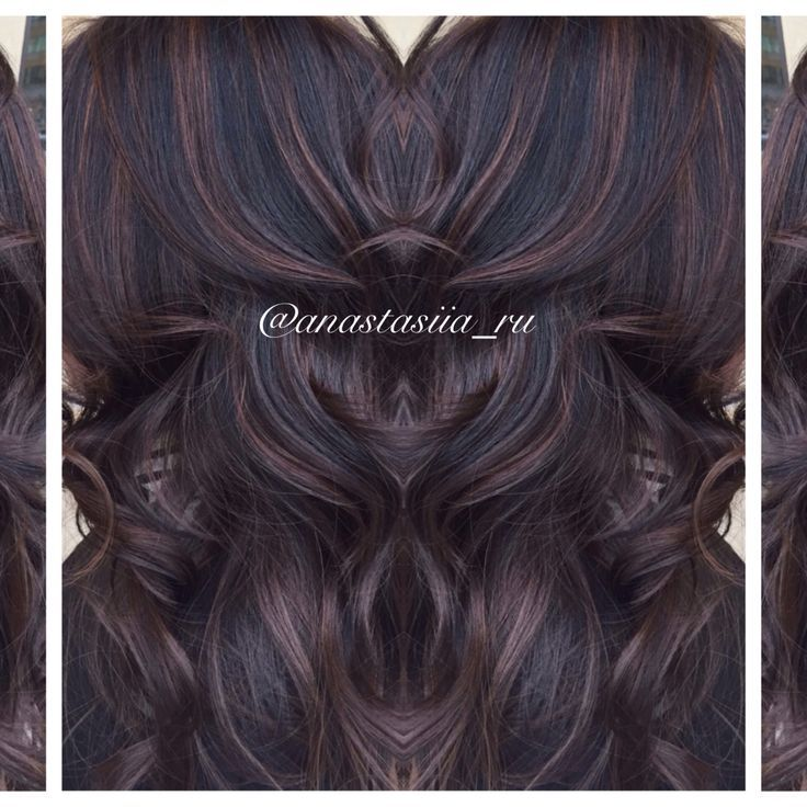 The 25 best black hair with highlights ideas on pinterest black image result for black brown hair with chocolate highlights urmus Image collections