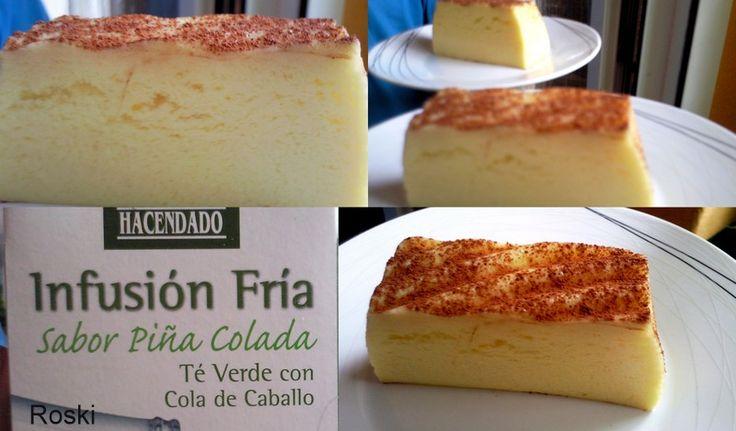 Esta tarta flan es lo mas visto en el blog pues hoy espero que esta nuevaversiónos guste, lleva mas queso y unas gotas de aro...