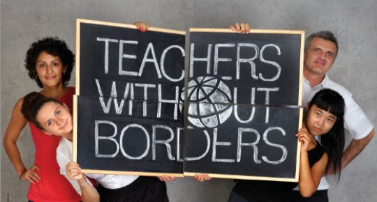 Teachers without Borders offers fantastic resources on global issues and supports educators around the world.