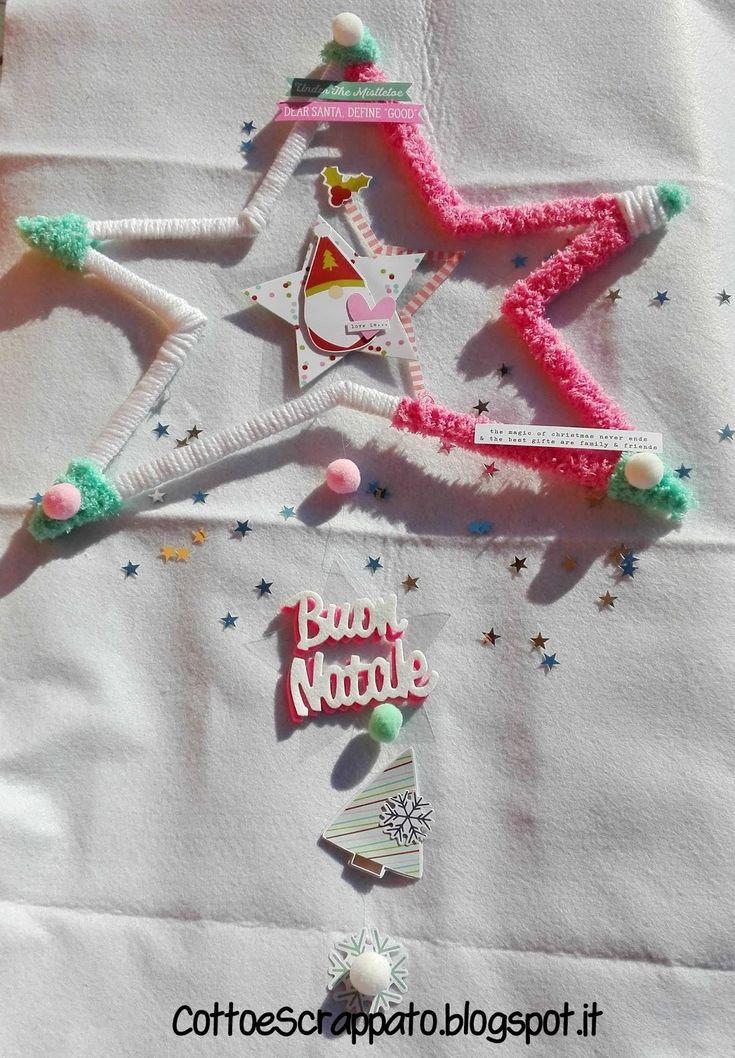Decorazione natalizia - stella handmade
