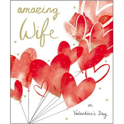 17 Best images about Valentines Day Cards – Wife Valentines Day Card