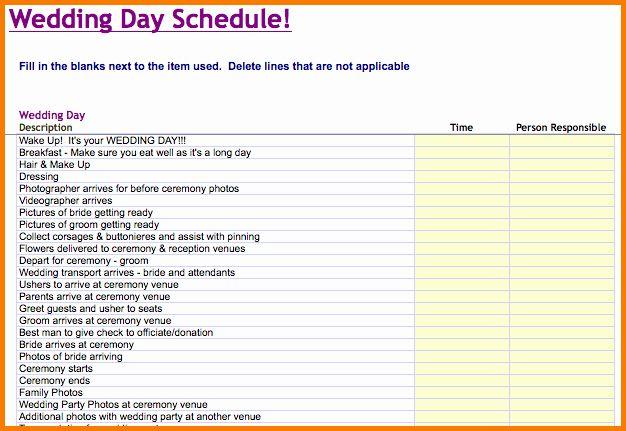 Wedding Planner Timeline Template Inspirational Wedding Day Schedule Template Wedding Day Schedule Wedding Timeline Template Wedding Day Timeline Template