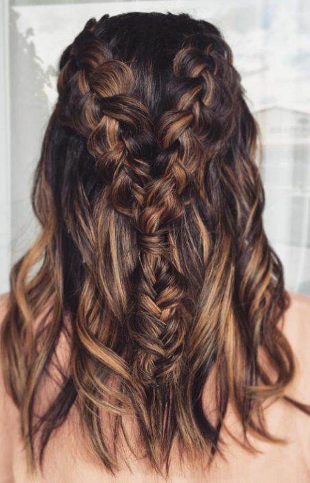 braids with hair styles best 25 hair color with highlights ideas on 5513