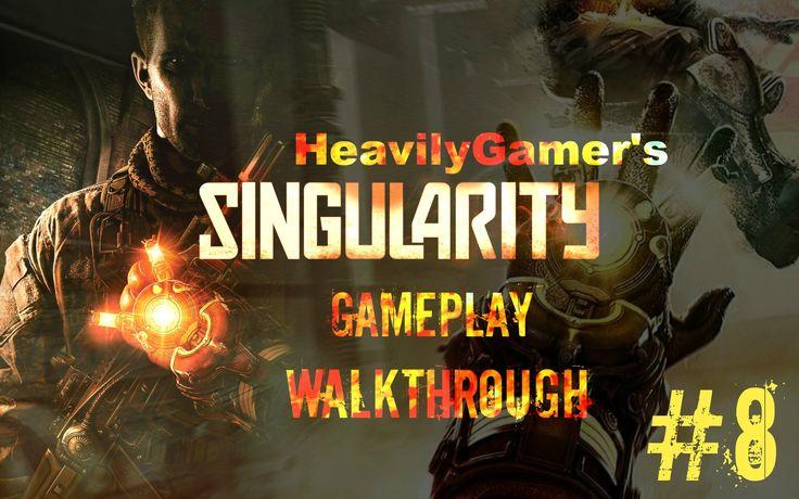 Singularity Gameplay Walkthrough Part 8:Renew The Train/Train Boss Battle