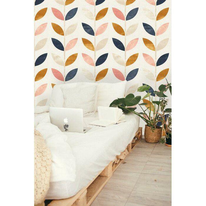 Braaten Removable Scandinavian 8 33 L X 25 W Peel And Stick Wallpaper Roll Peel And Stick Wallpaper Removable Wallpaper Wallpaper Roll