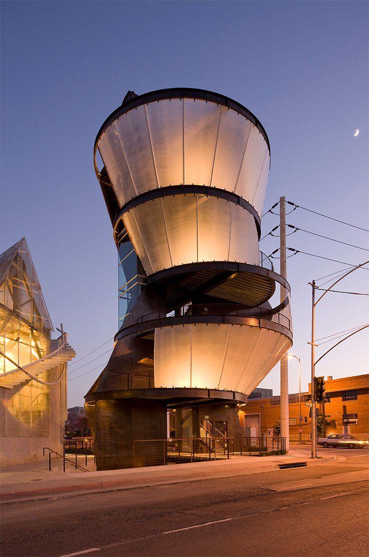 10 best architect eric owen moss images on pinterest for Moss building design