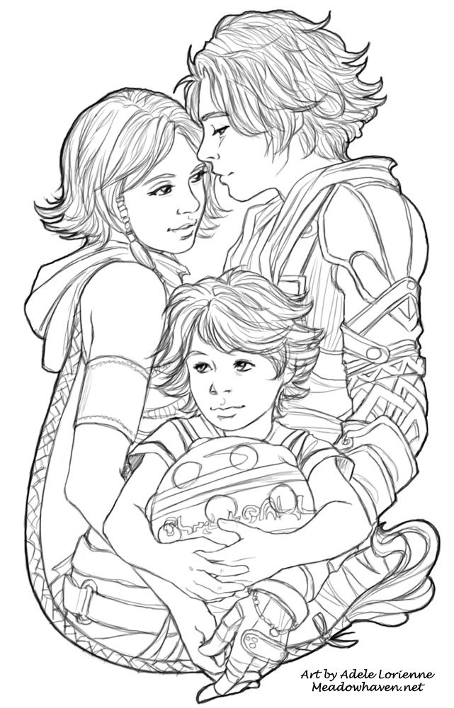 Digital Sketch Lineart Commission Of Yuna And Tidus From Final Fantasy X With Jessamis Fan Character KidThis One Was Fun Gotta Love Those Crazy FF