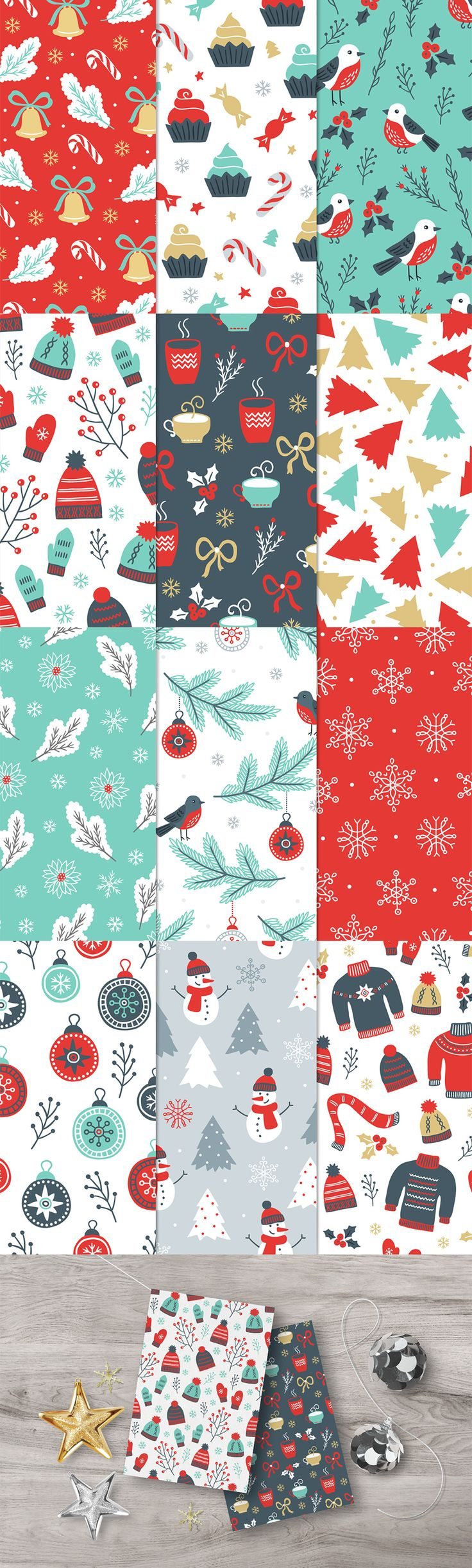 12 Christmas Seamless Patterns - https://www.designcuts.com/product/12-christmas-seamless-patterns/