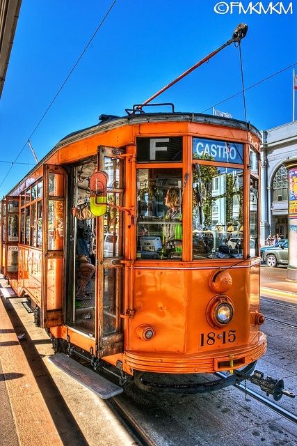 San Francisco's Muni has about ten of these Italian streetcars and all came from the city of Milan.