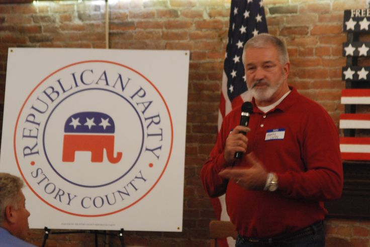 Story County Board of Supervisors Candidate Marty Chitty speaks at the Story County GOP Wendy Jensen Memorial Chili Supper in Nevada on Tuesday Oct. 18, 2016. Photo by Grayson Schmidt/Ames Tribune http://www.amestrib.com/news/20161018/local-and-state-officials-talk-upcoming-elections-at-gop-chili-supper
