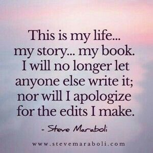 my life, my story, my book