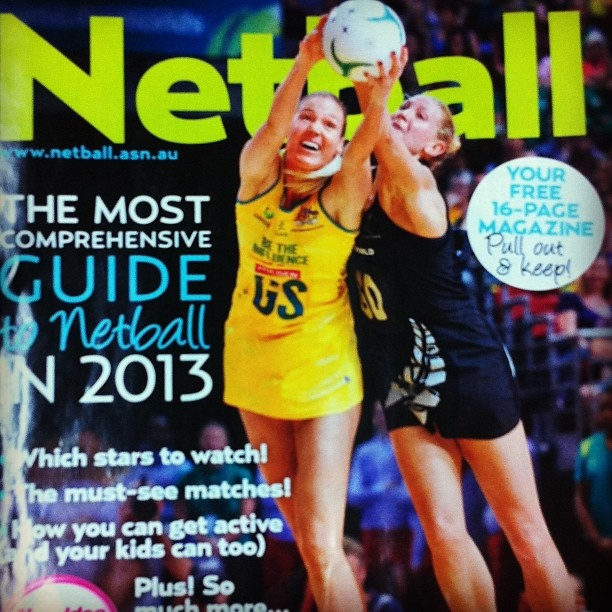 We hope you grabbed your free copy of our Netball Guide in New Idea magazine!