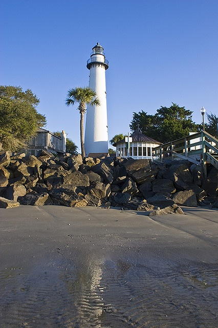 St Simons Island; I have a picture of my grandmother and me in front of this lighthouse when I was a little girl.