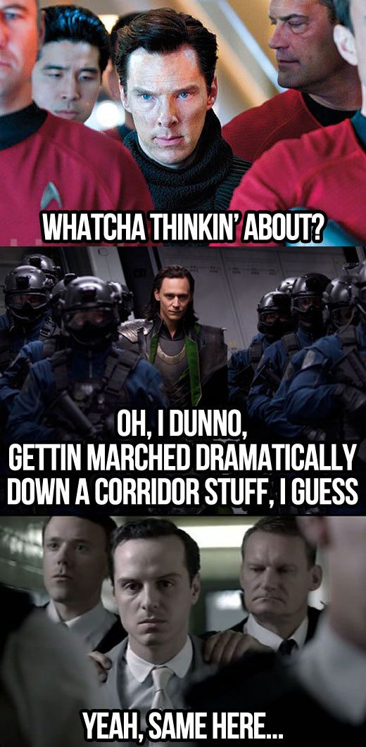 What villains think about…