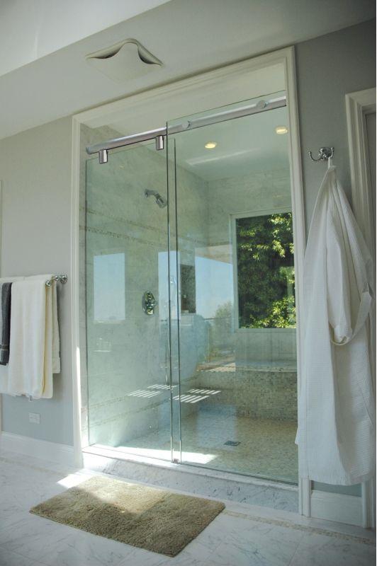 25 best Shower Doors images on Pinterest Shower doors, Bathroom - badezimmer fu amp szlig boden