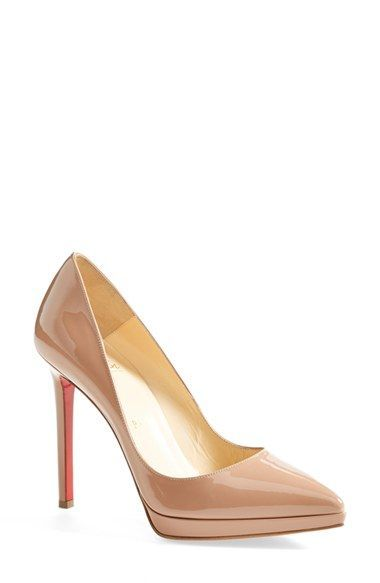 b2d23fdf81bb Christian Louboutin  Pigalle Plato  Pointy Toe Pump available at  Nordstrom
