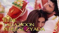 Jeene Laga Hoon Bollywood Sing Along - Ramaiya Vastavaiya - Girish Kumar, Shruti Haasan - YouTube