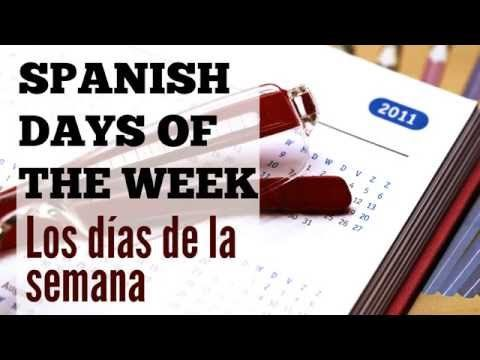 How to write & say the days of the week in Spanish (conversations + quiz) | Spanish Learning Lab