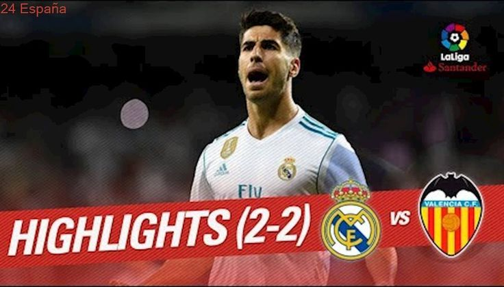 Resumen de Real Madrid vs Valencia CF (2-2)