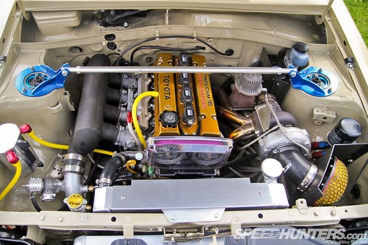 Toyota Starlet Kp61 39 84 4agze Hks Turbo Kit Nom Nom Nom