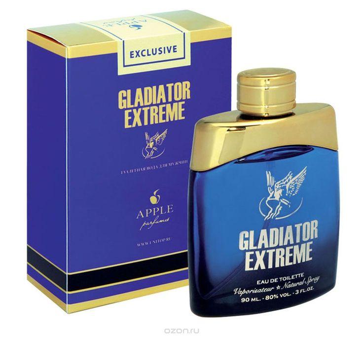 "туалетная вода ""Gladiator Extreme""/""Гладиаторский Экстрим"" от Apple Parfums/Эппл (2012) #гладиаторскийэкстри #эппл #туалетнаявода #мужскойпарфюм"