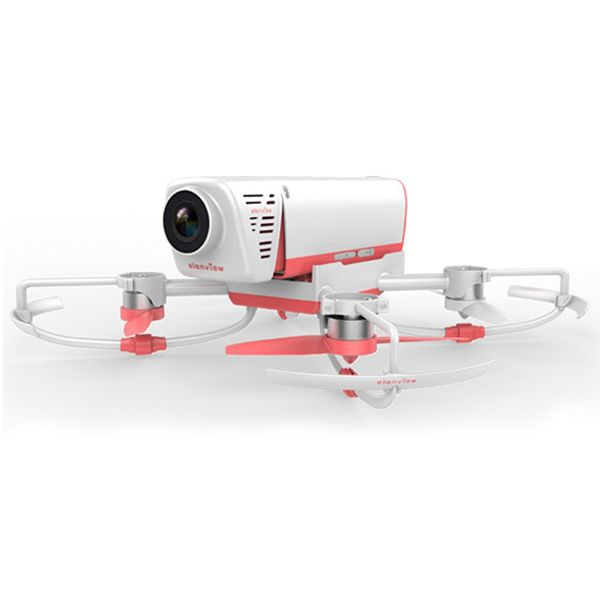 Elanview Cicada 1600px 1080P Video Flying Camera FPV RC Quadcopter Controlled By Android Or IOS Device   Flying Camera with16Mpx , 1080P video and Live Preview controlled by Android or IOS Device. Specifications: Band name:Elanview  Dimensions (L*W*H): 238*238*87mm Diag