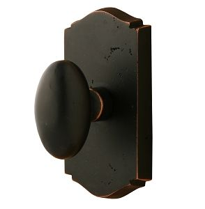 Sure Loc Door Hardware   Slickrock Solid Egg Doorknob