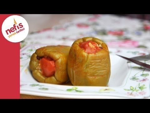Kıymalı Biber Dolması Tarifi | Nefis Yemek Tarifleri - YouTube