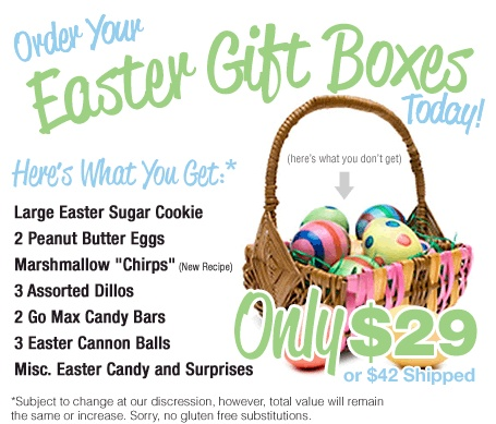 55 best vegan easter basket ideas images on pinterest gift vegan easter basket from cakewalk baking company negle