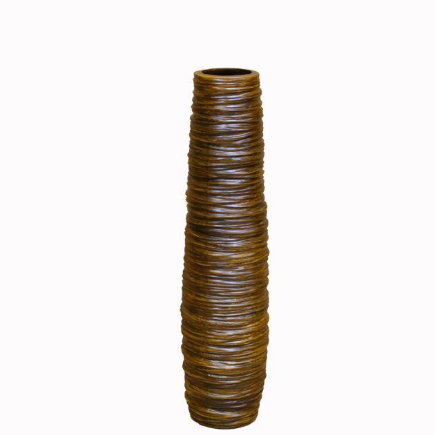 Βάζο Δαπέδου Twist Brown 55εκ  Τιμή: €29,00 http://www.lovedeco.gr/p.Vazo-Dapedou-Twist-Brown-55ek.818533.html